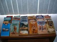 Louis L'amour 53 paperback books plus hard cover book