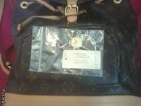This is a beautiful back pack. ,I jus have had