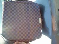 Authentic Louis Vuitton Messenger Bag text  Location: