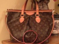 AUTHENTIC LOUIS VUITTON PALERMO GM 2WAY SHOULDER TOTE