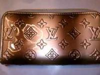 Very cute replica Louis Vuitton clutch wallet. Brown
