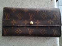 Louis vuitton wallet. Made in france .new condition
