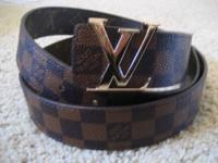 Important details ; This if for a louis vuitton belt