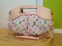 All new Louis Vuitton Monogrammed, multicolor, Judy MM
