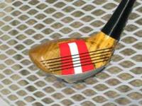 This Niblick #8 wood was handcrafted with special