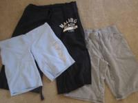 here's 3 pairs of lounge shorts, they are all about