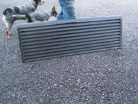 Louvered tail gate for a full size pickup truck Call