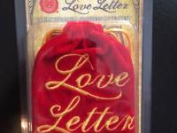 I am selling a hardly used copy of the Love Letter card