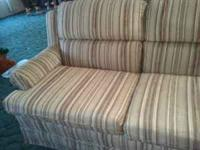 This love seat is very comfy and clean it has very