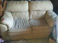 Love seat in fair condition Contact Bob  Location:
