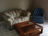Love seat in like new condition. Will be moved from my
