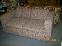 I have this love seat, it's in good condition and sits