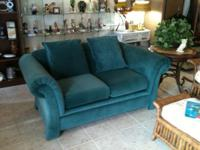 LOVE SEAT $225.OO CHAIR $125.OO THEY ARE IN EXCELLENT