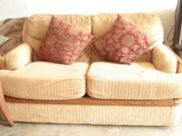 I have a comfortable love seat is a mysterious color,