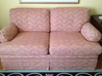 Ethan Allen Fabric Love Seat, excellent condition, Call