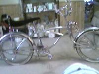 I HAVE FOR SALE A LOVELY LOWRIDER BICYCLE.IT'S ALL