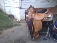 i have a beautiful 15 1/2 inch circle y show saddle,