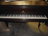 Schubert Piano (Mfg. by Lester Co. of Philidelphia