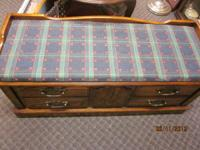 ,  The pictures show the cedar chest.  Nice heavy
