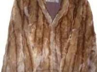 Beautiful vintage fur by Geyerman Furs that could fit