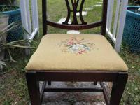 Great Item, Beautiful Design!!!! Mahogany Chair w/