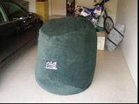 LoveSac 6 foot, like new condition. Forest green. Will