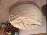 Almost never used, perfect condition Lovesac Supersac.
