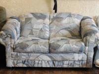 $85 ~ Nice Clean, sturdy LOVESEAT. Has a couple frayed