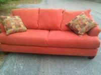 Nice loveseat and sofa. Will deliver for small fee in