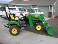 It's a Deere, and it plows snow, or what ever 2005