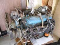 Low Mileage 454 Big Block Chevy Engine Complete. I