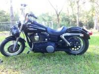 For sale: 2007 Harley Street Bob 96CI motor, 6 speed