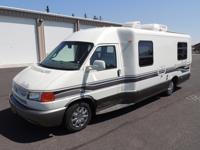 Sleeps 4 seats 8. A completely contained RV for a
