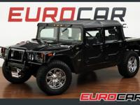 FEATURED: 2003 HUMMER H1 OPEN TOP ONLY 36K MILES FUEL