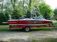 HULL & DECK FEATURES: Wrap Around Bow Seating Wake