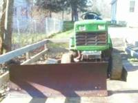 i have a lowboy tractor. 18 horse with plow and mower