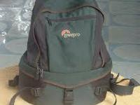 Lowe Pro Orion Trekker Camera Bag.  Bag is in great