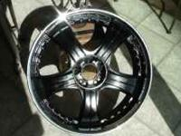 Lowenhart LD5 (3 piece) 20 inch Staggered Rims with