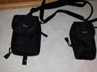 Lowepro camera cases. 2 available, $5 each.  Please