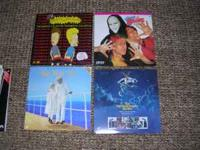 I am selling Lot #4 consisting of 16 Laser Disc Movies