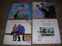 Lot #6 consists of 6 Laser Disc Movies that I am