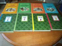 HERE WE HAVE 8 BOOKS GREAT CONDITION MAKE OFFER CASH