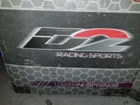 D2 PRO Series lowering springs optimize and improve