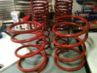Eibach Sportline Springs. Used one year and swithed to