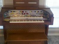 We are selling our lowery organ, it is a celebration