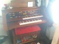1970s model Lowrey electric organ. Cost over 7000 when