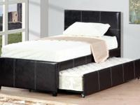 Lowest Price in town !! Twin Size Bed w / Trundle Bed