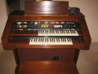 A lowrey Contempo 80 D-500 organ is in great shape was