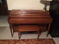 Great piano in good condition $600 OBO email with