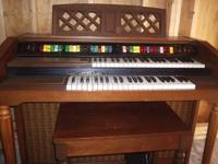 "For Sale: Lowrey ""Genie 44"" Organ Excellent Condition"